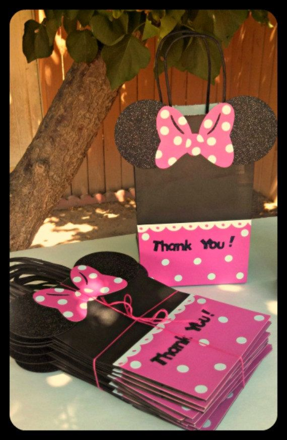 Mickey Mouse Minnie Mouse Goody Bags Candy Bags By