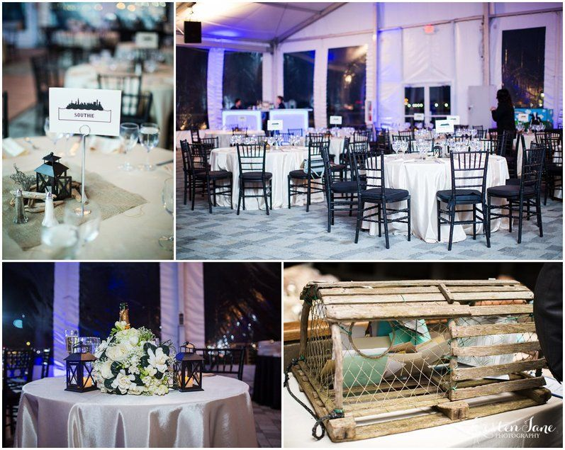 The New England Aquariums Harbor View Terrace And Tent Provides A Stunning Canvas For Your Event