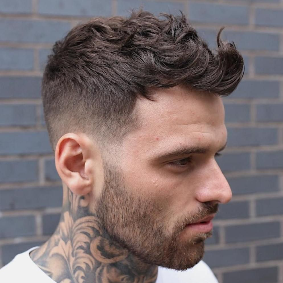 40 Best Haircuts For A Receding Hairline In 2020 Wavy Hair Men Mens Haircuts Fade Mens Haircuts Short