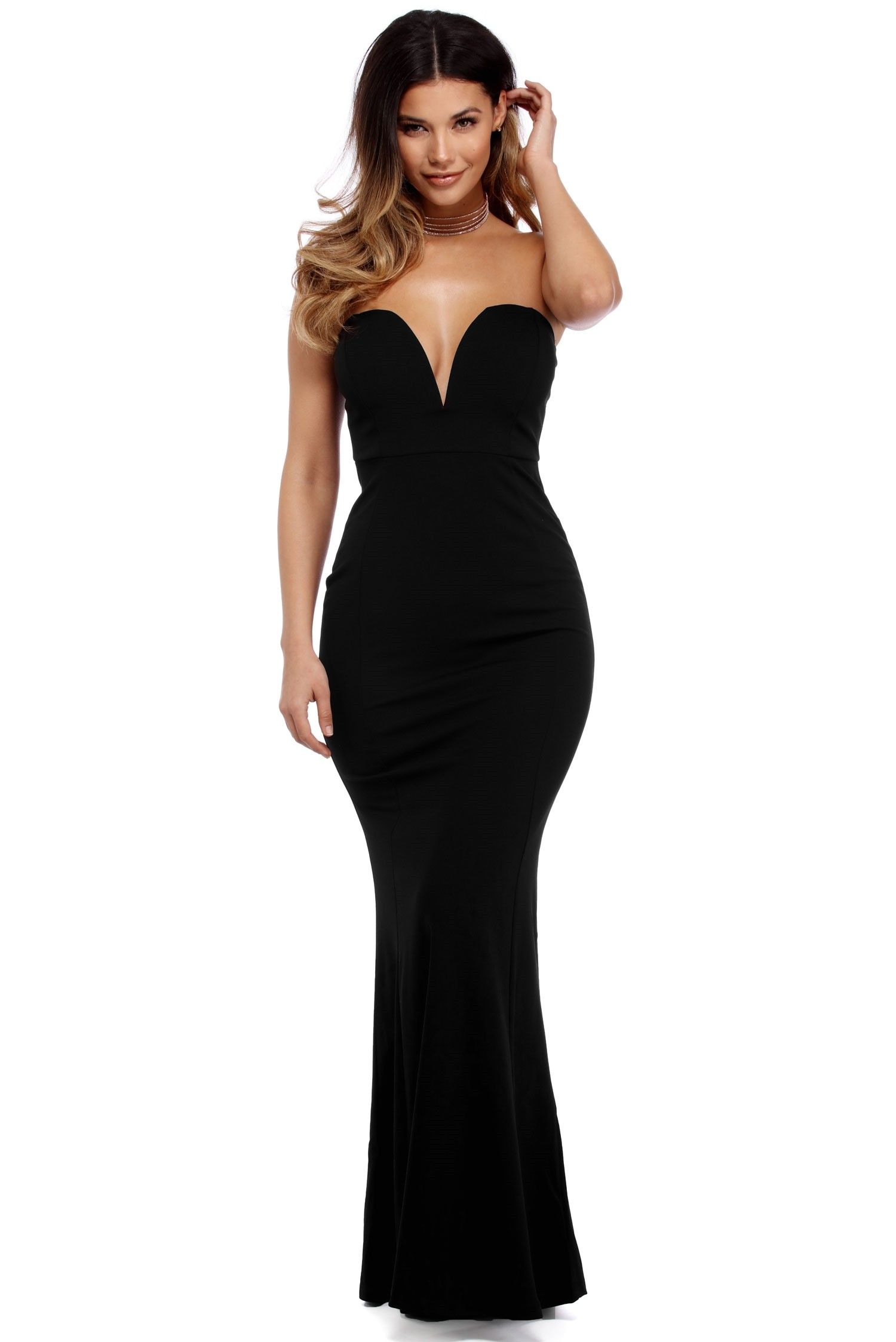 Sophia Black Formal Dress
