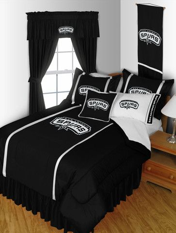 Set Up You Spurs Themed Bedroom With This San Antonio