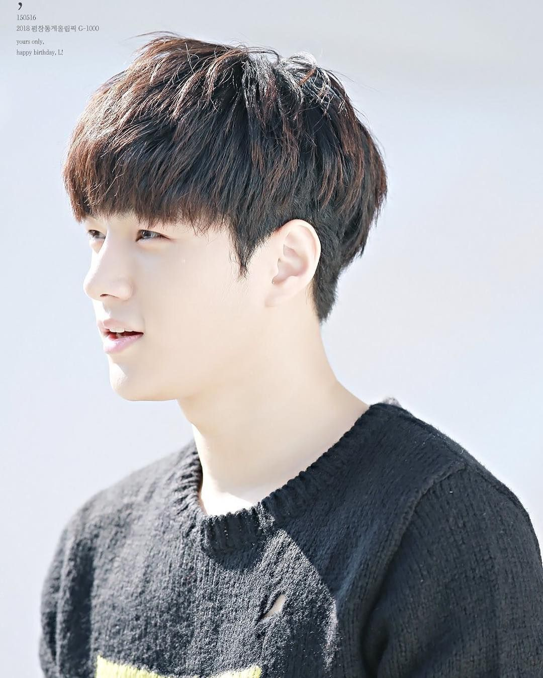 Myungsoo Infinite Inspirit Korean Hairstyle Korean Men Hairstyle Korea Hair Style Men