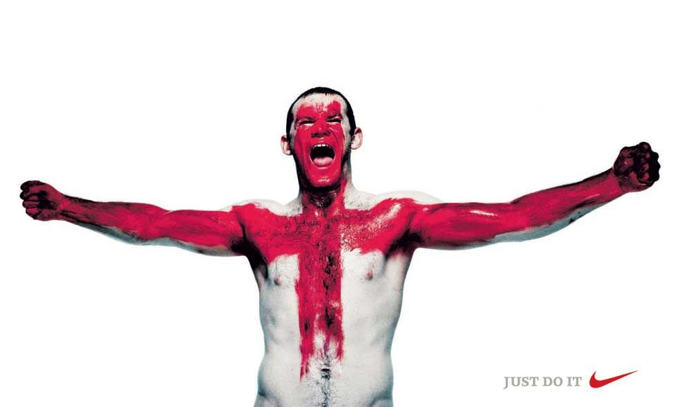 Nike Puts Rooney On St George Cross - The Inspiration Room
