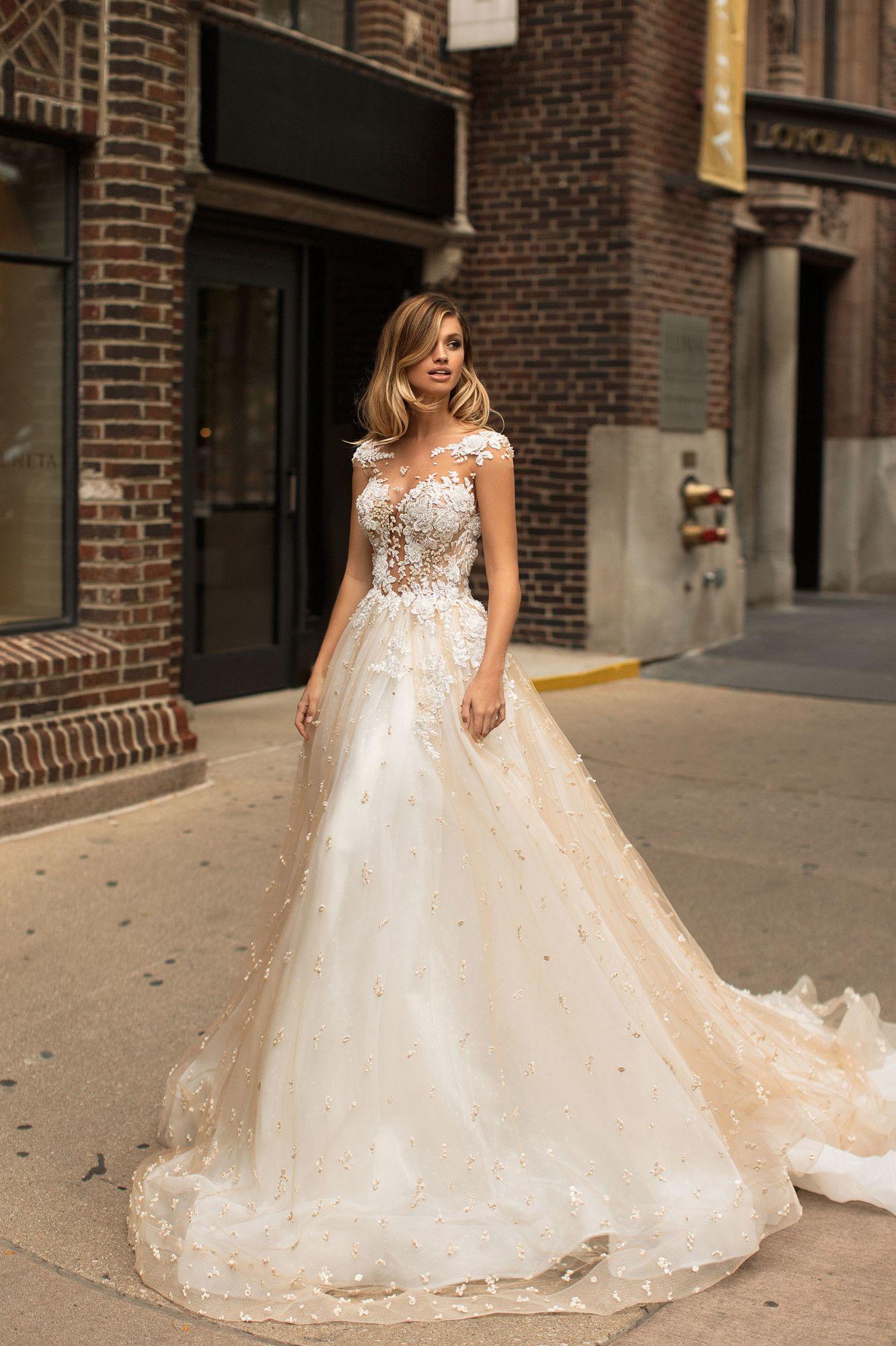 Sebsuella1 Bridal Gowns Vintage Pink Wedding Dresses Bridal Gowns [ 2000 x 1332 Pixel ]