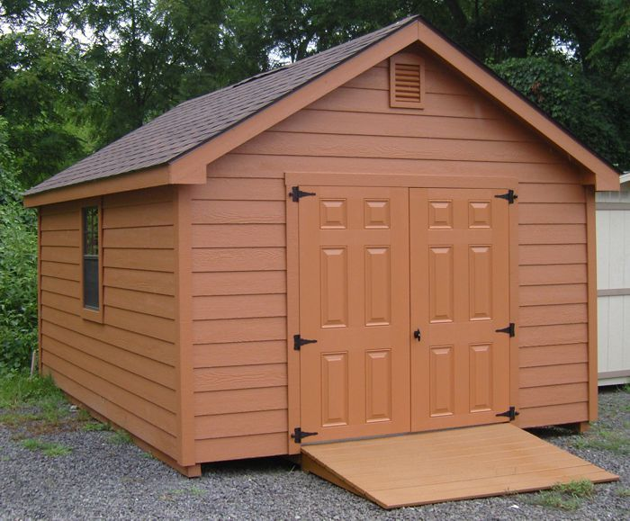 12x16 Gable Style Lap Side Shed Capitol Sheds Shed Free Shed Plans Lap Siding