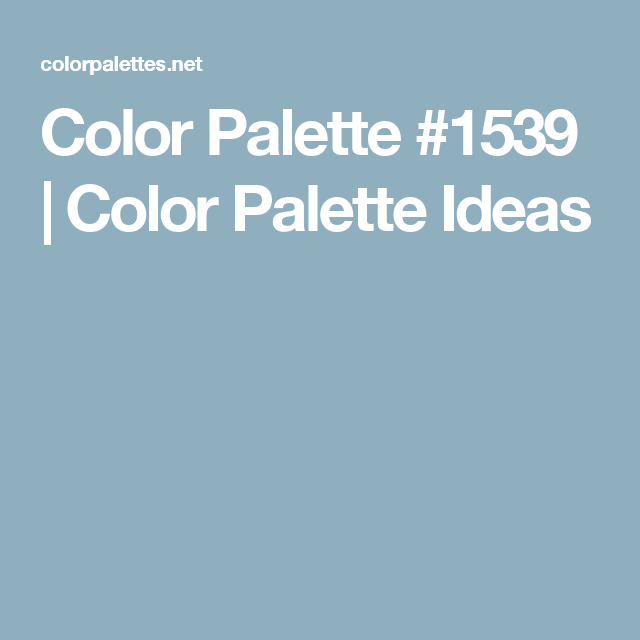 Color Palette, Color Palette Picker