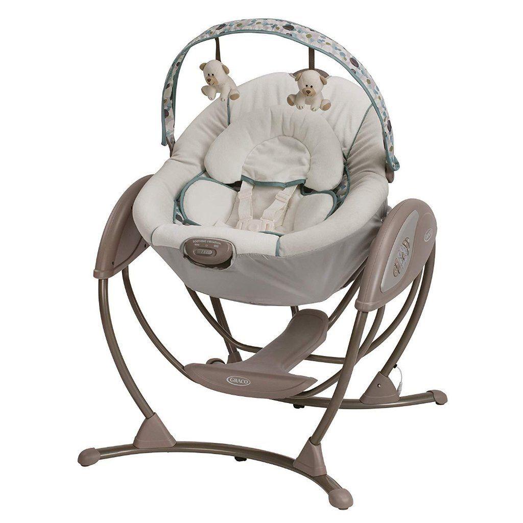 Sliding Movement Swing Graco Waterloo Bebelelo Baby Support Baby Swings Graco Baby