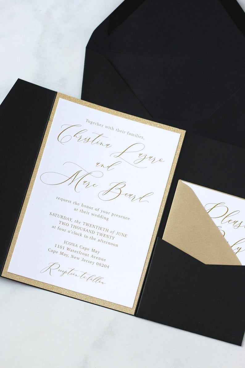 Pin On Black And Gold Wedding Ideas