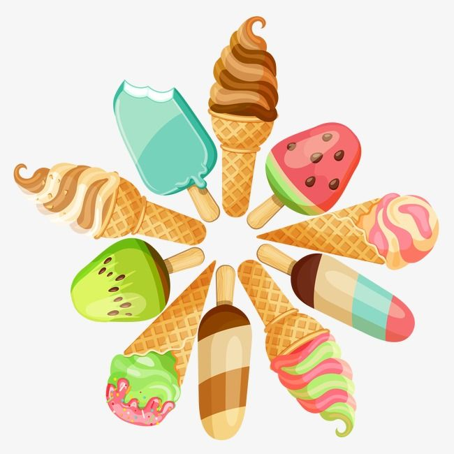 Ice Cream Cartoon Cool Popsicle Delicious Vector Ice Vector Cream Vector Ice Cream Candy Kitchen Wall Stickers Ice Cream Cartoon
