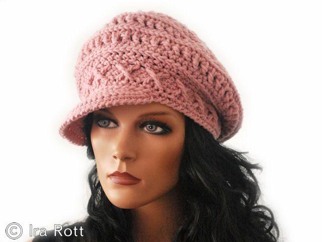 Knitted Newsboy Hat Pattern Free Uk
