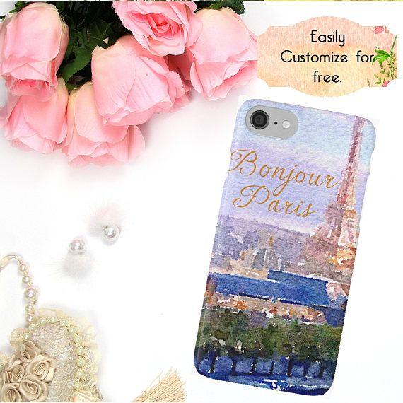 Eiffel Tower Paris iPhone Case Parisian Phone Cover French