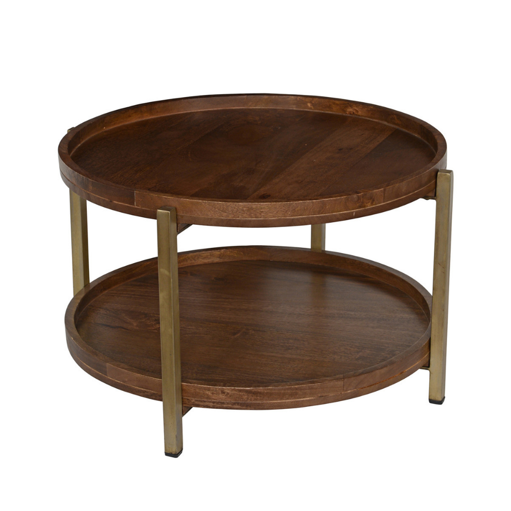 Baxter Coffee Table 30 Round Occasional Tables Furniture Products Handcrafted Sustainabl Coffee Table Solid Coffee Table Oversized Chair Living Room [ 1000 x 1000 Pixel ]