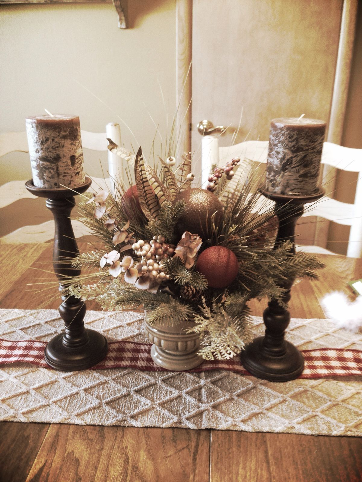Fall Table Decor Winter Holidayschristmas Holidayschristmas Dinner