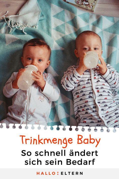 wie viel sollten babys trinken gro e bersichtstabelle. Black Bedroom Furniture Sets. Home Design Ideas