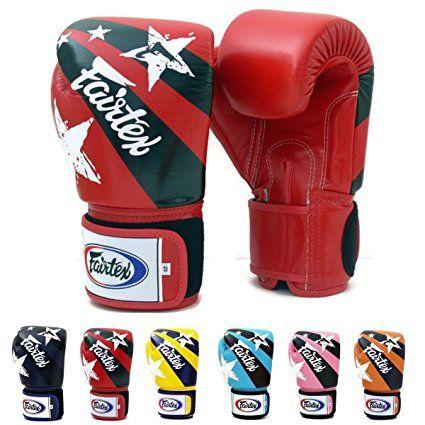 Fairtex Muay Thai Boxing Gloves BGV1 Limited Edition Nation