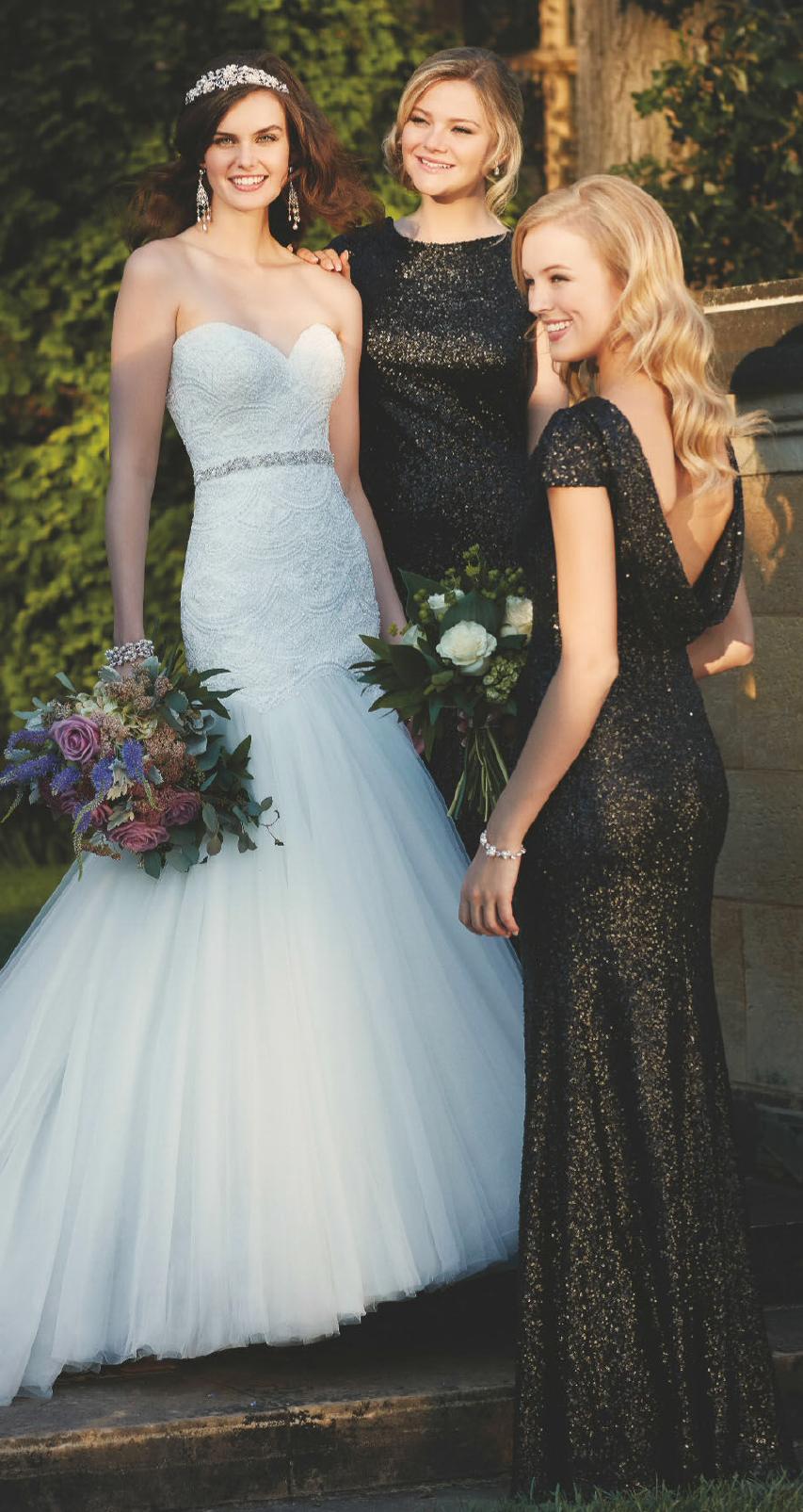 Golden+Black Bridesmaid Dress | Bridesmaid Dresses: STYLE-lish ...