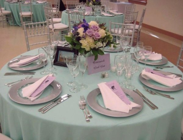 cheap wedding decoration ideas for tables tosca themes visit wwwlovelyweddingideascom