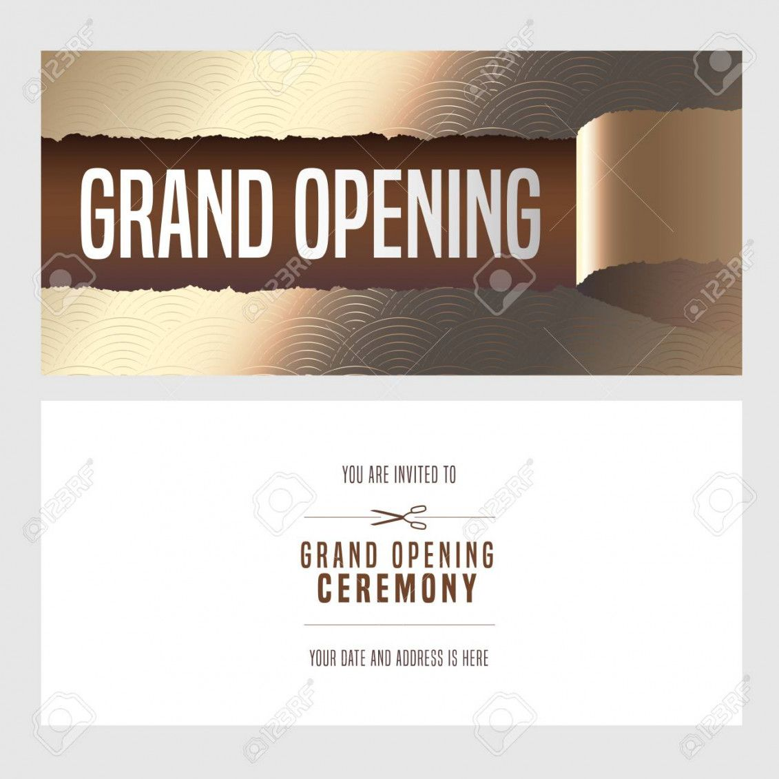 Invitation Template Opening Ceremony Invitation Card Sample Invitations Shop Opening Invitation Card