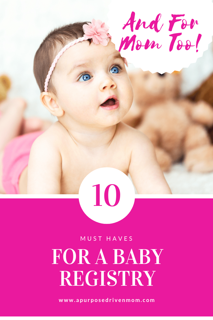 cb48e485ce16 10+ Must Haves for a Baby Registry (and new mom too!)
