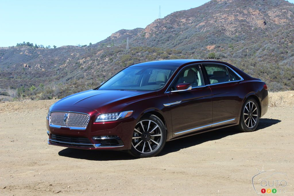 2017 #Lincoln Continental First Drive   Car Reviews   Auto123