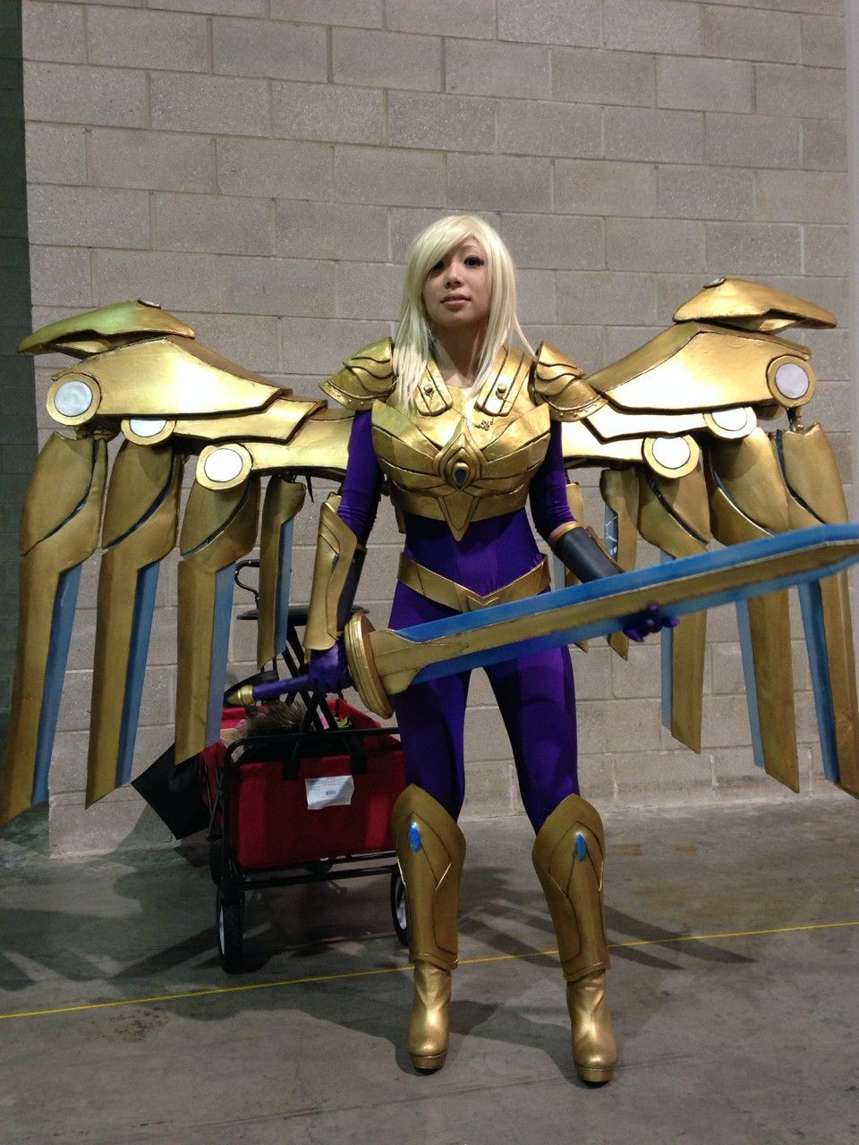 Amazing Aether Wing Kayle - Imgur | Cosplay | Pinterest ...