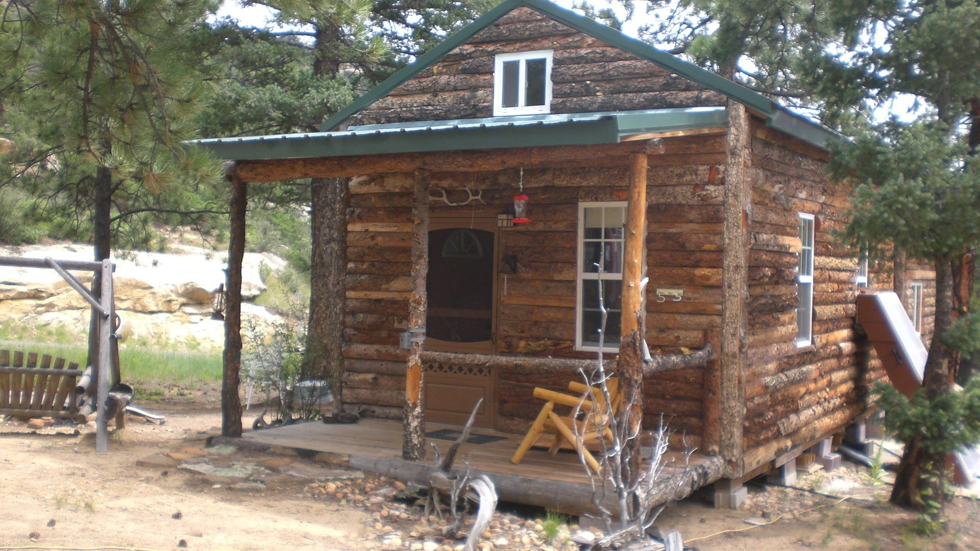 Hunting Acreage And Cabin For Sale In Southern Colorado Cabins For Sale Land For Sale Cabin