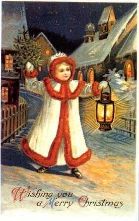 Nostalgische Weihnachtsbilder.Weihnachten Nostalgie Bilder Vintage Christmas Cards Weihnachten