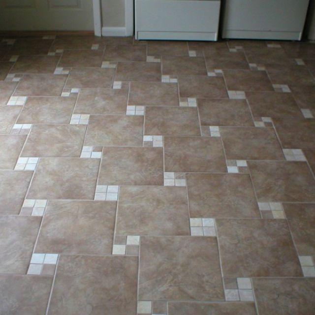 Pinwheel tile pattern   Flooring, Tile floor, Bathroom ...