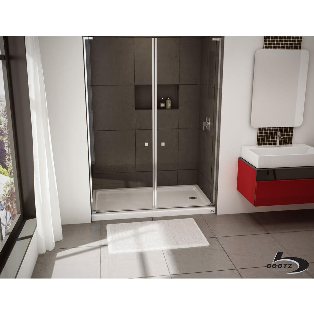 Bootz Industries Showercast 60 In X 30 In Single Threshold
