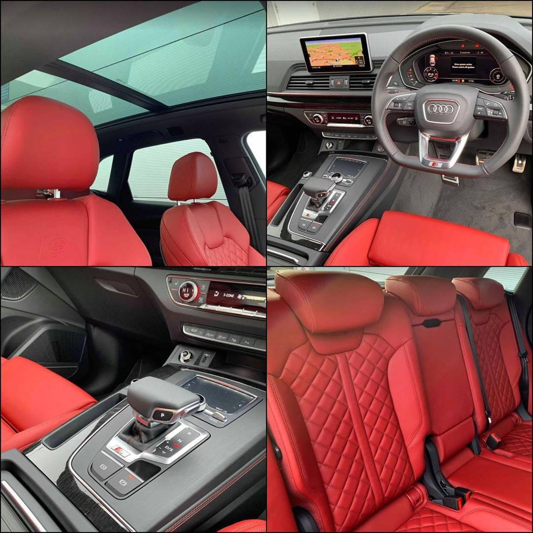 Incredible Audi Sq5 In 2020 Sq5 Red Interiors Best Instagram Posts
