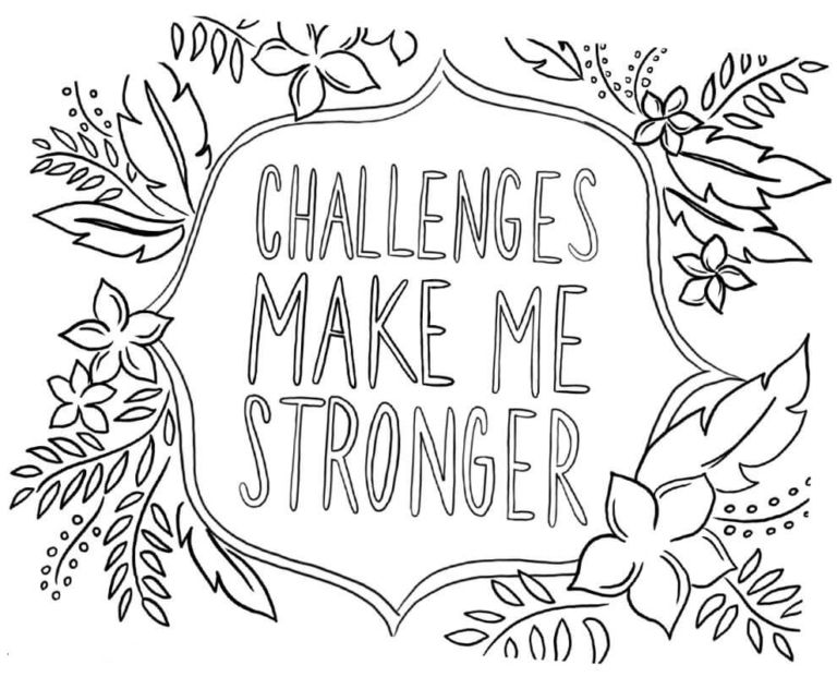 Free Growth Mindset Coloring Pages Kids Growth Mindset