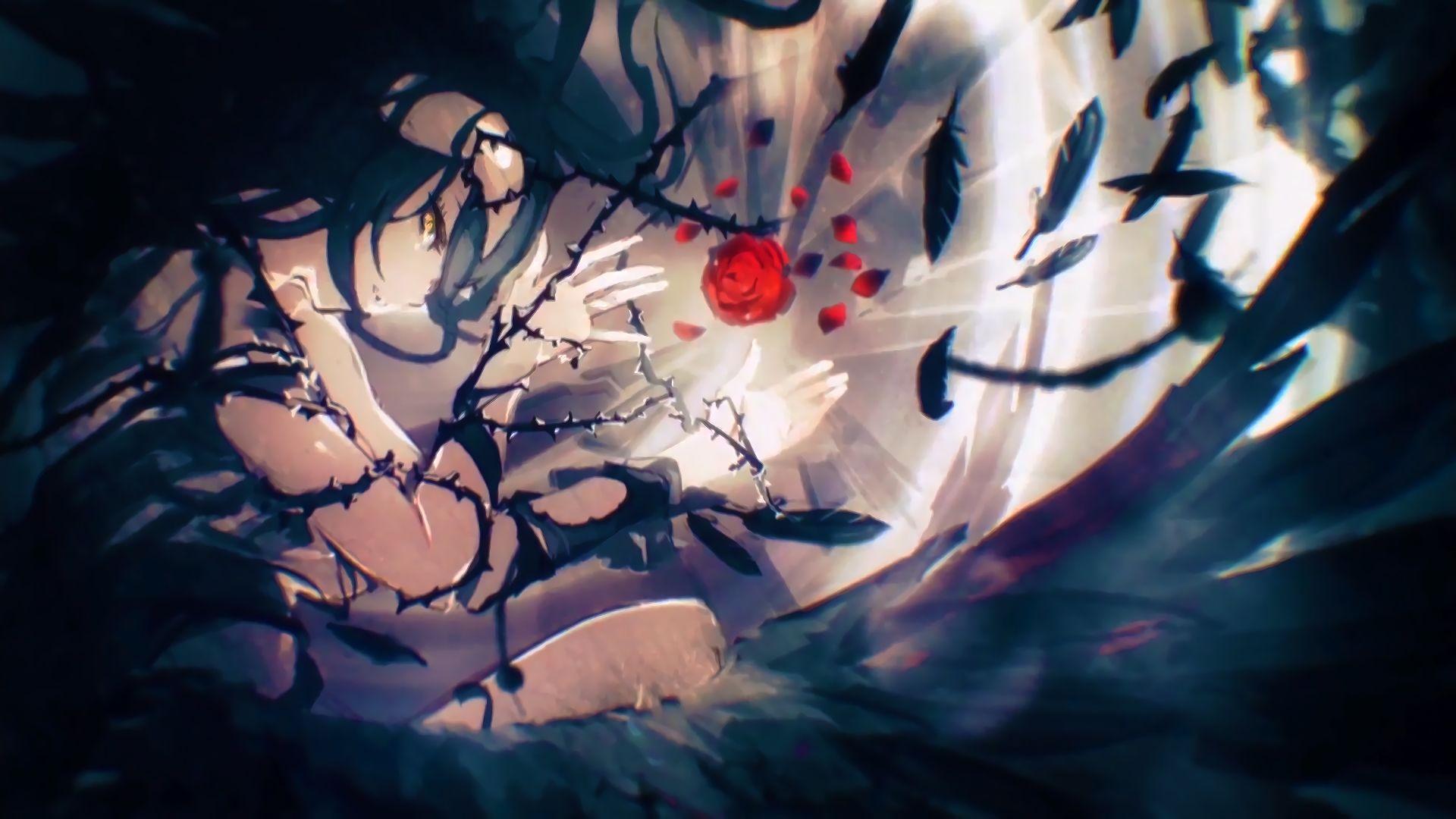Albedo Overlord Anime 1920x1080 Wallpaper Albedo Anime Anime Wallpaper 1920x1080