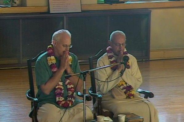 A life of spiritual transition in ISKCON. Varnasrama, ISKCON, and the GBC - video