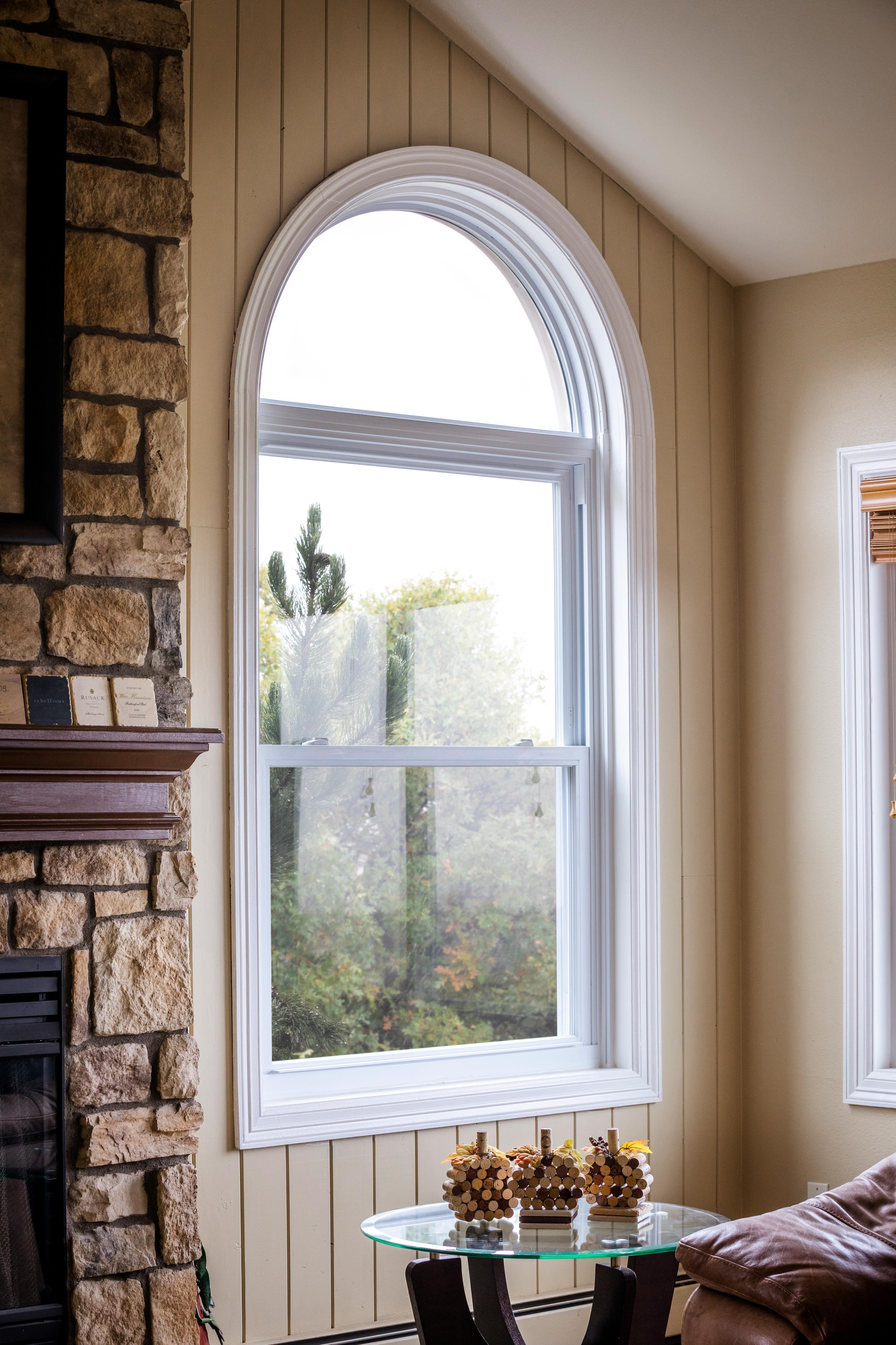 Arched Windows Add A Unique Impressive Appearance At An Affordable Price Windows Affordableprice Unique