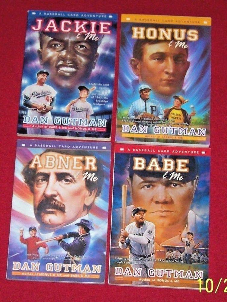 Baseball Card Adventure Abner Jackie Babe Honus 4 Chapter Books Dan