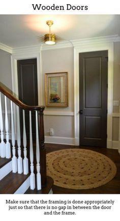 Photo of Wooden Doors. Timber