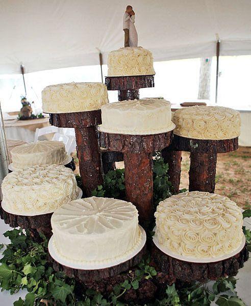 Rustic Wedding Cupcake Ideas: Wedding Cake Rustic, Wedding