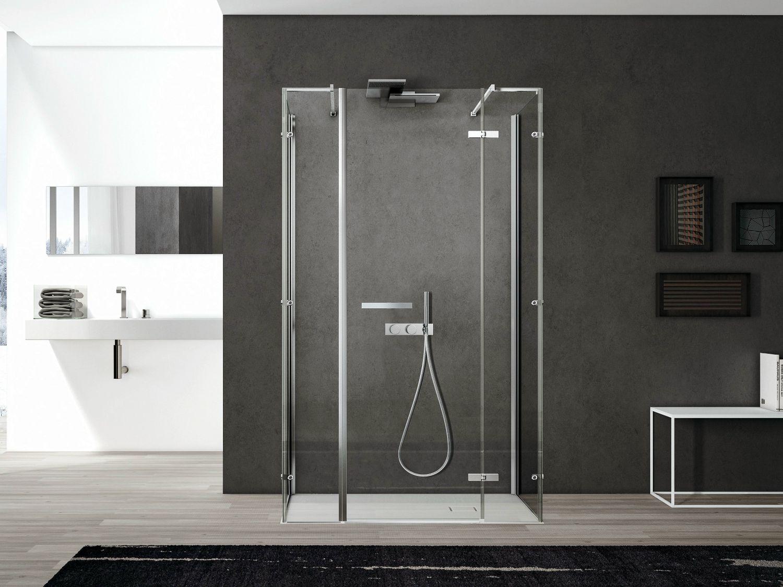 Box doccia rettangolare in vetro SMART 07 Collezione Smart
