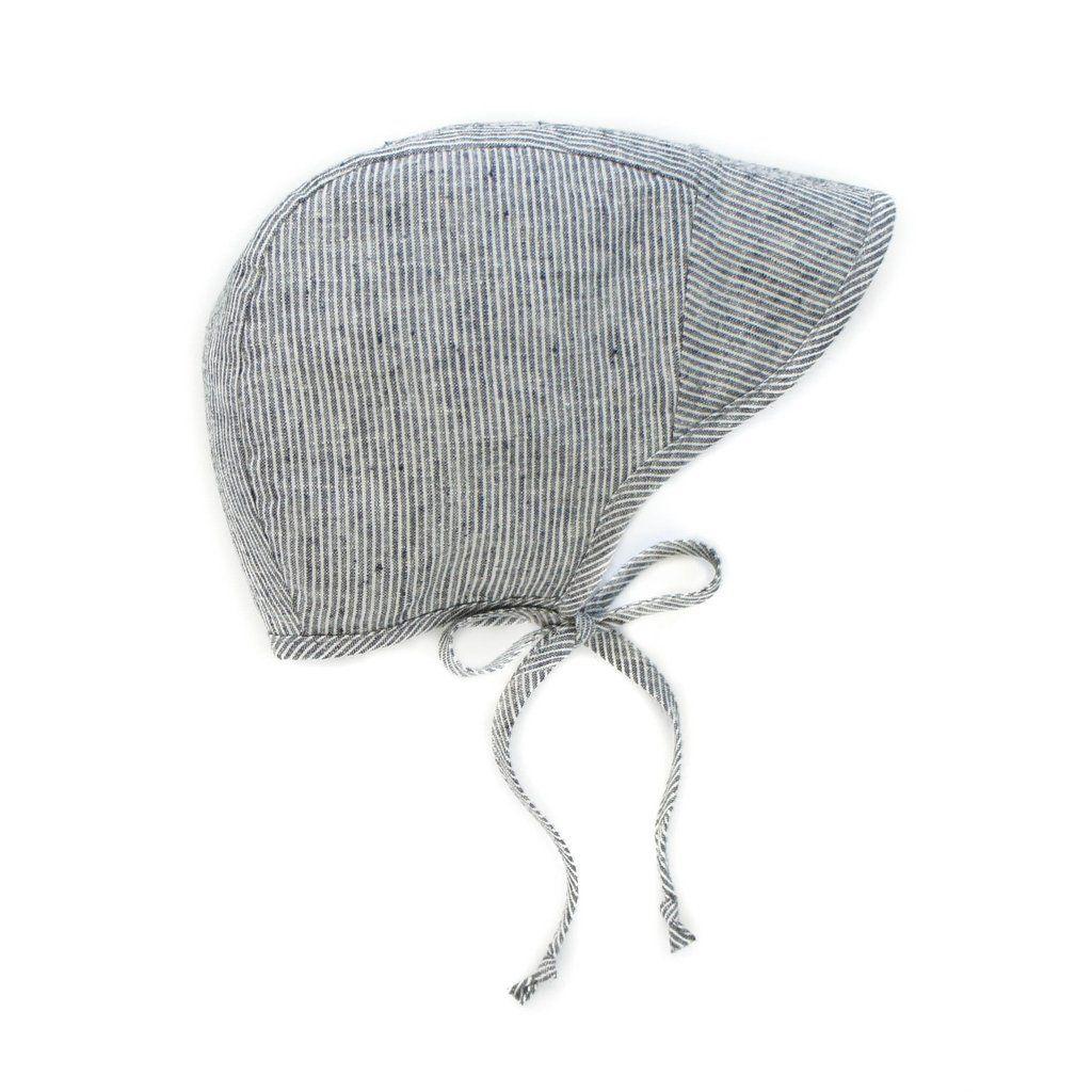 cb422600e Brimmed Natural Stripe | Briar Bonnets | Baby bonnets, Baby sun hat ...