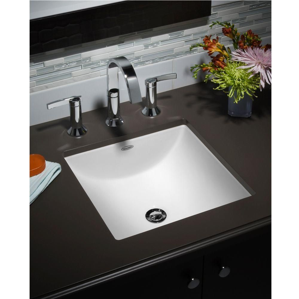 Captivating Faucet Com 0958 008EC 020 In White By American Standard  Bathroom Sink ...