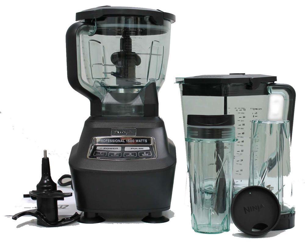 Ninja Mega Kitchen System Bl770 1500w 2hp Blender Food Processor Drink Maker Ninja