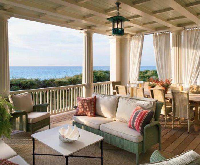 Terrassengestaltung Ideen Bilder Haus Mit Terrasse In Der Nähe Von ... Terrassen Design Meer Bilder