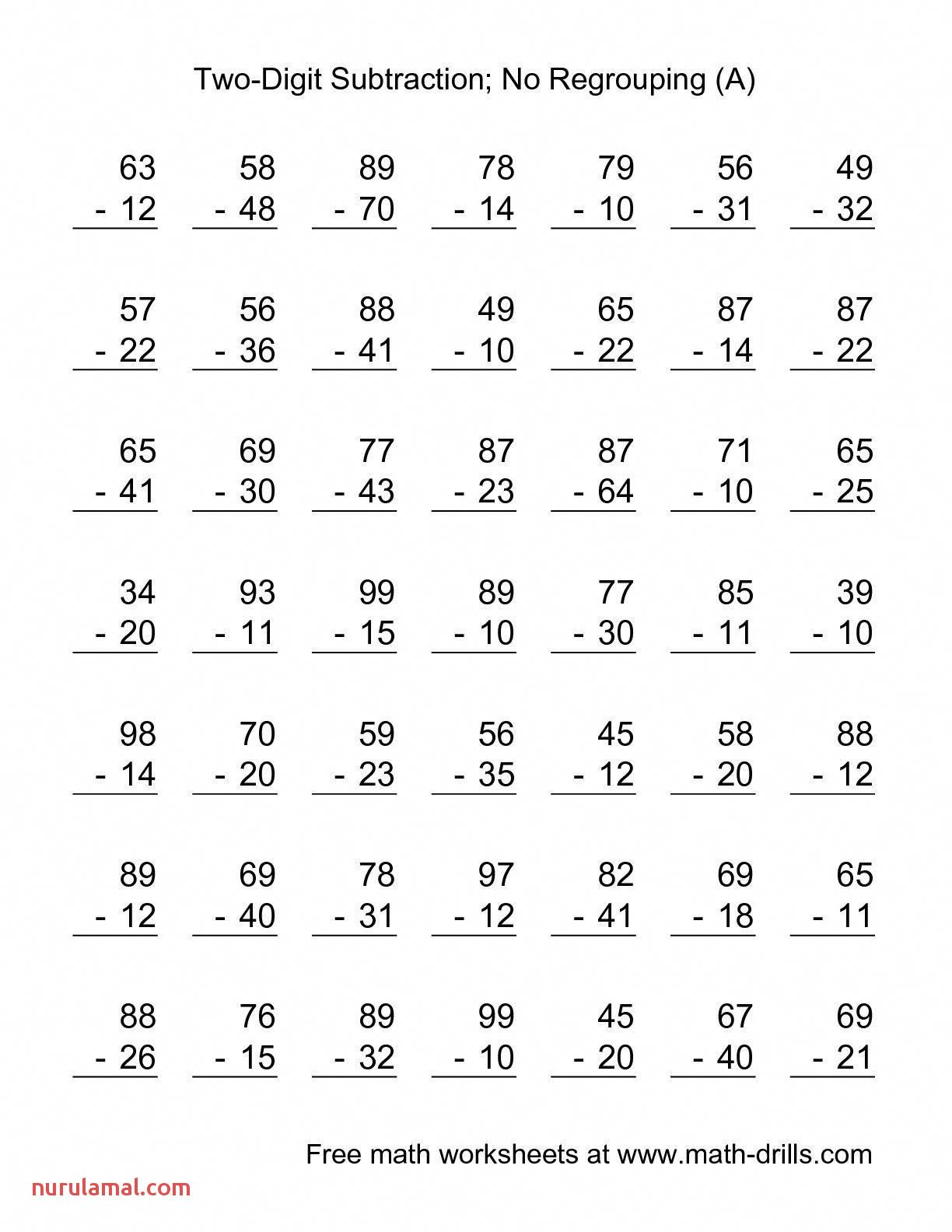 Third Grade Worksheets Math In