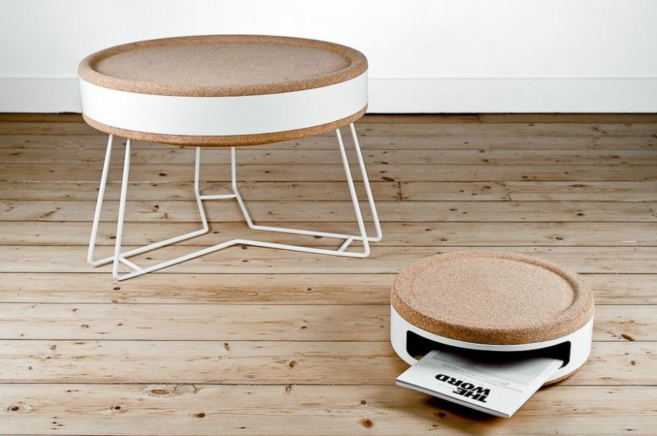 Exceptional Belgium Based Design Studio Twodesigners Have Created The Kork Furniture  And Lighting Collection. Made Of Cork, The Collection Includes Coffee Table,  ... Nice Design