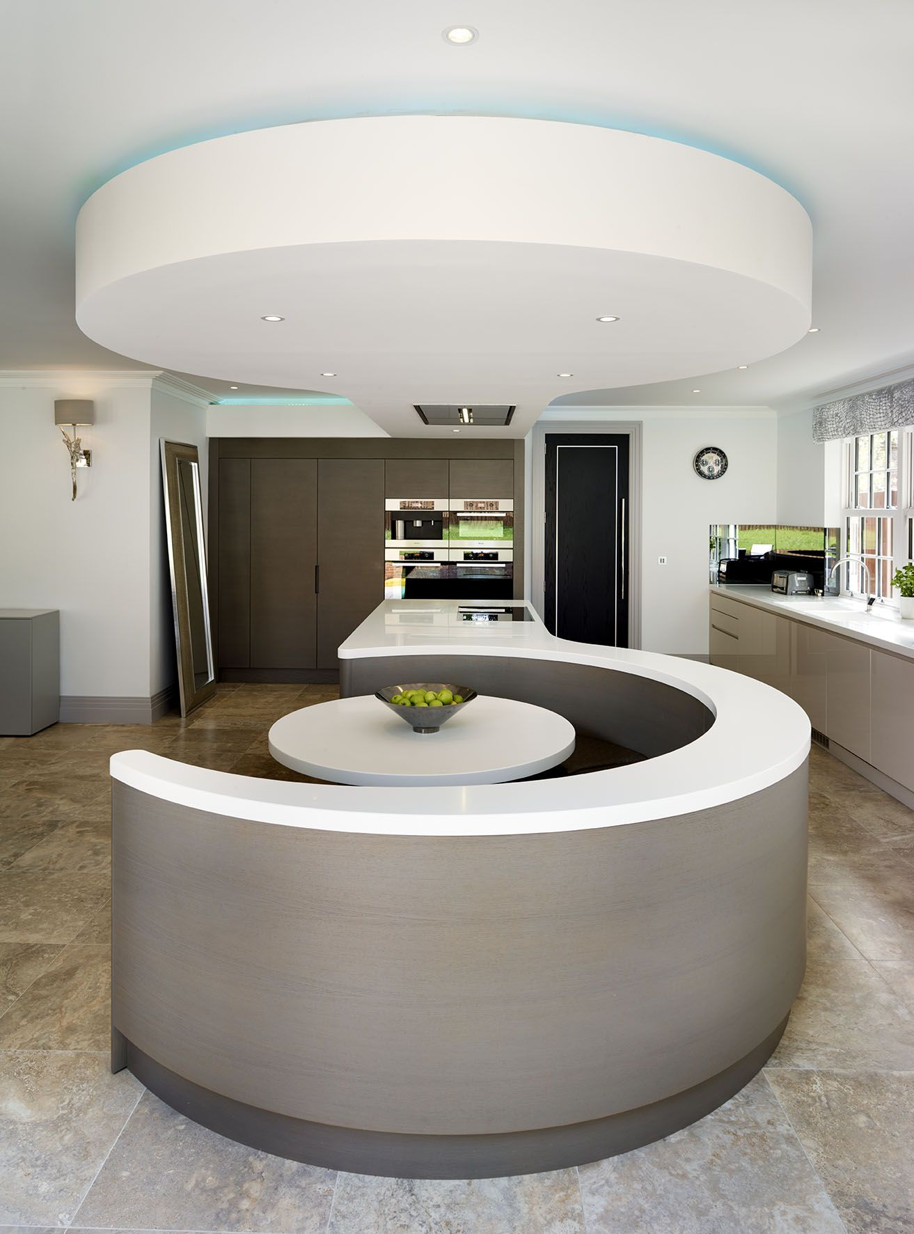 The Curved Banquette Seating