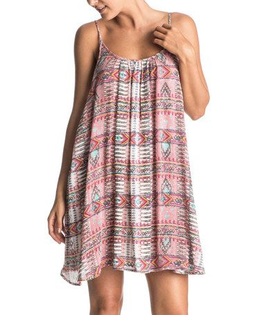 This Sunset Bay Combo Sea Windy Fly Away Shift Dress is perfect! #zulilyfinds