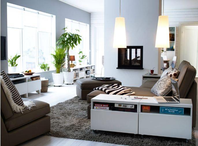 Window wall arrangement | Ikea living room, Living room ...