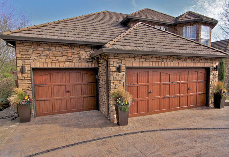 Double Carriage Garage Doors House Renovations Pinterest U For Design Ideas
