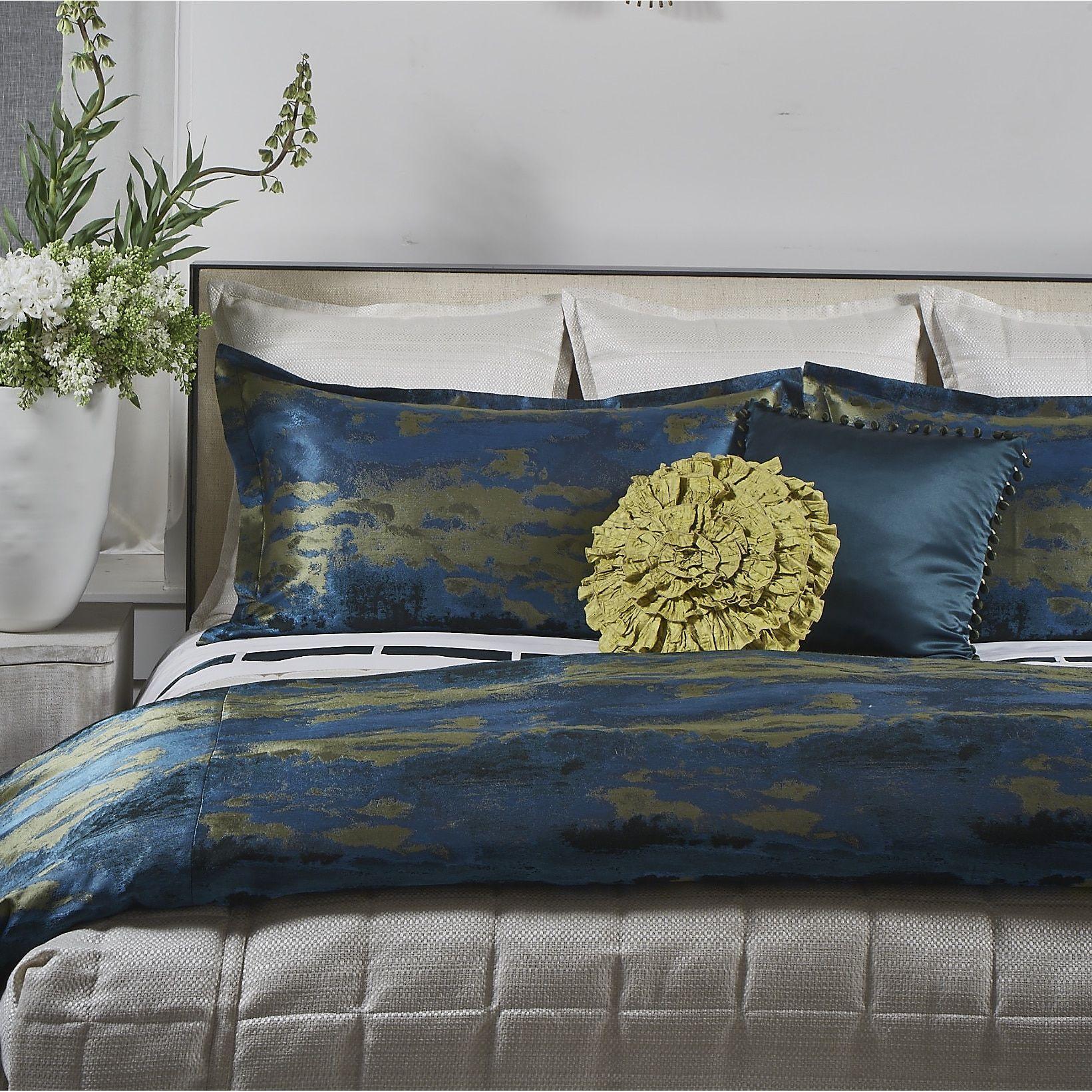 Ann Gish Lagoon 3 Piece Duvet Set Duvet Sets Duvet