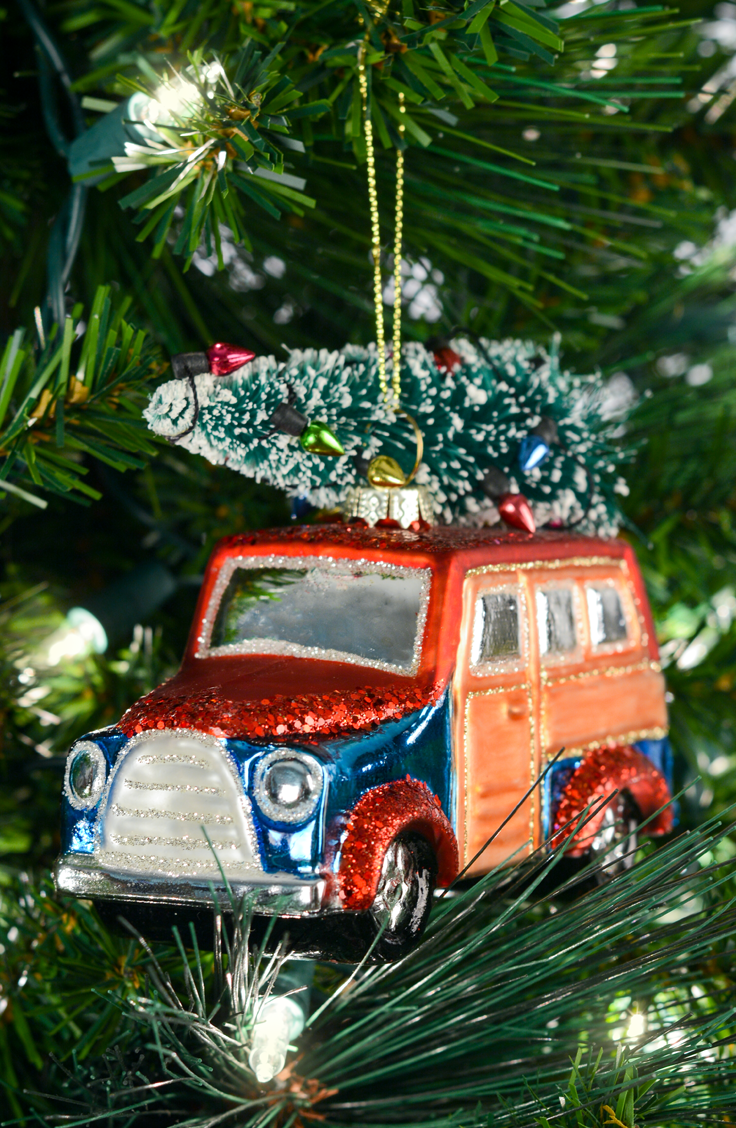 Trim the tree with beautiful glass, wood & novelty ornaments - find ...